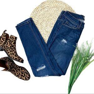 Harper Heritage Distressed Skinny Jeans Sz 28